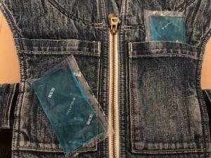抱っこ紐のポケットに保冷剤が入るのは便利