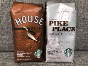 福袋に入っていたスタバのコーヒー豆