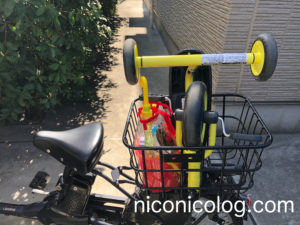 折り畳める三輪車ディーバイクダックス