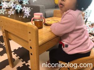 2歳のプレゼントにおすすめの幼児机と椅子
