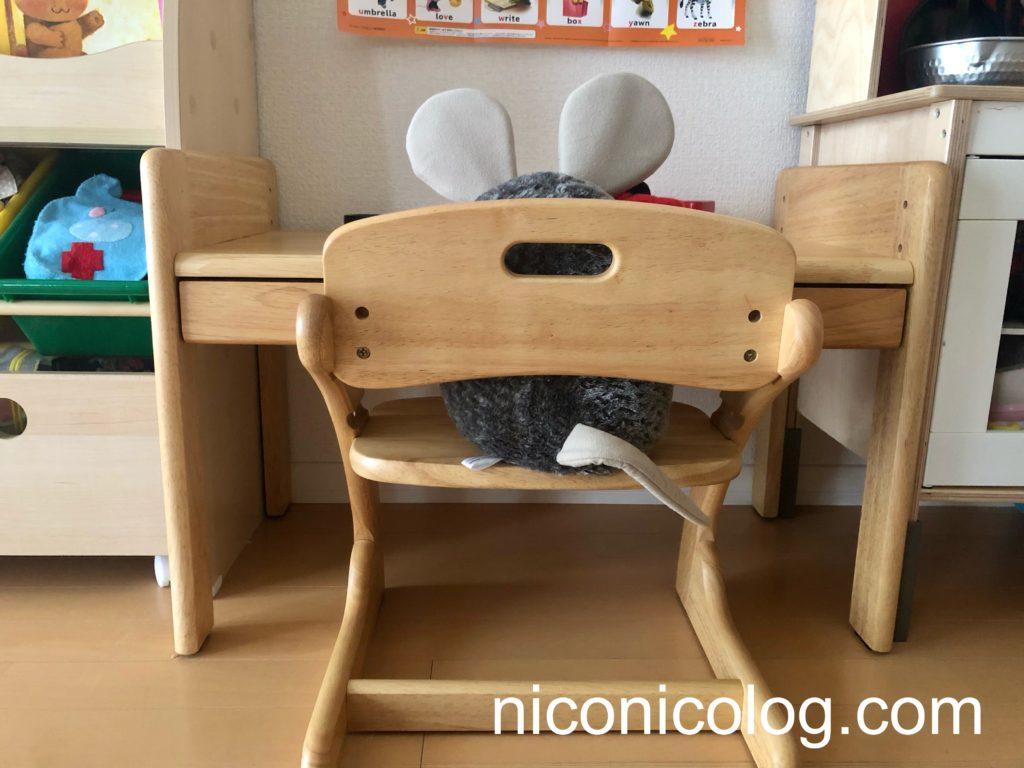 幼児用の机は必要?2歳の時に購入した理由